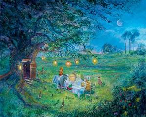 Harrison Ellenshaw-Poohs 80th Garden Party - From Disney Winnie the Pooh
