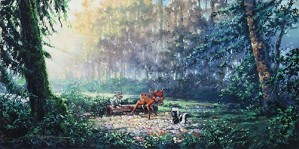 Rodel Gonzalez-Beautiful Flowers - From Disney Bambi