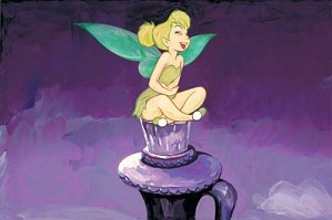 Jim Salvati-Tickled Tink - From Disney Peter Pan