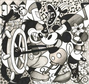 Tim Rogerson-Steamboat - From Disney Steamboat Willie