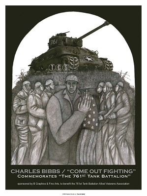 Charles Bibbs-Come Out Fighting - Limited Edition