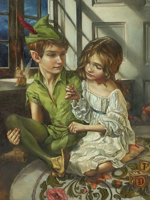 Heather Theurer-Sewn to His Shadow From Peter Pan