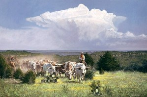 Ragan Gennusa-Distant Thunder By Ragan Gennusa Giclee On Canvas  Artist Proof