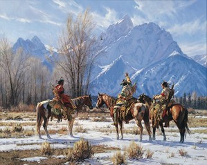 Martin Grelle-Eagle Prayer By Martin Grelle Giclee On Canvas  Signed & Numbered