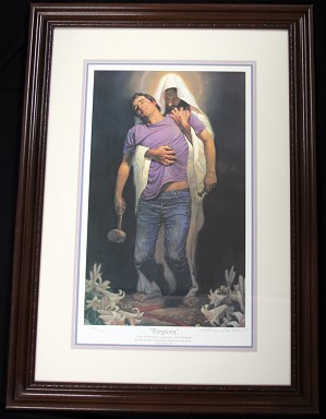 Thomas Blackshear II-Forgiven Limited Edition Framed