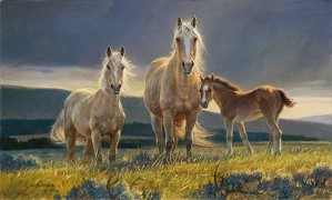 Nancy Glazier-Golden Glory By Nancy Glazier Giclee On Canvas  Artist Proof