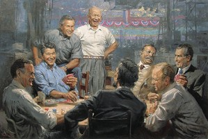 Andy Thomas-Grand Ol Gang By Andy Thomas Giclee On Canvas Open Edition Signed
