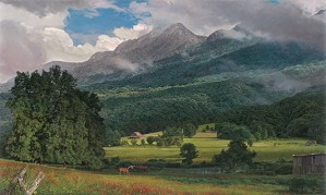 Phillip_Philbeck-Grandfather Mountain By Phillip Philbeck Giclee On Paper  Signed & Numbered