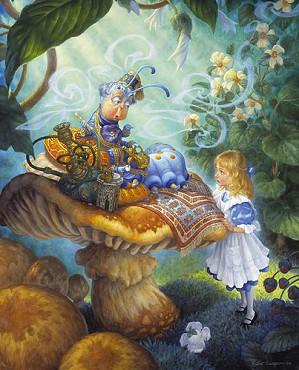 Scott Gustafson-The Alice In Wonderland Suite Limited Edition Print