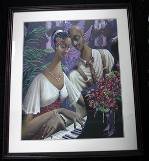 John Holyfield-Heart And Soul Framed