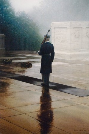 Rod Chase-Honored Glory By Rod Chase Giclee On Canvas  Artist Proof