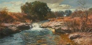 Bob Wygant-Idle Time By Bob Wygant Giclee On Canvas  Artist Proof