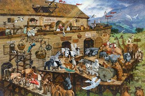 Michael Dudash-Its A Zoo In There! By Michael Dudash Giclee On Canvas  Signed & Numbered