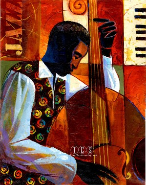 Keith Mallett-Jazz Giclee