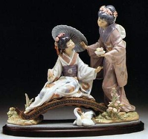 Lladro-Springtime In Japan