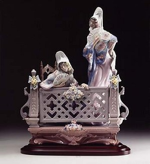 Lladro-On The Balcony 1998-02
