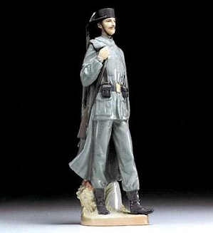 Lladro-Spanish Policeman 25km Marker Version