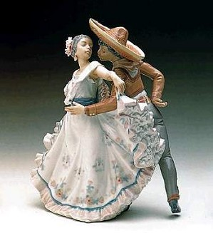 Lladro-Mexican Dancers