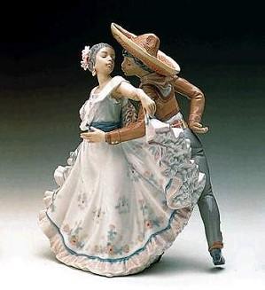 Lladro-Mexican Dancers
