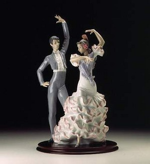 Lladro-A Passionate Dance