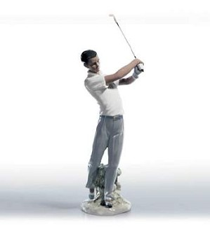 Lladro-The Perfect Swing