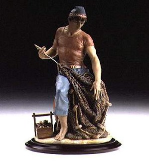 Lladro-Man Of The Sea