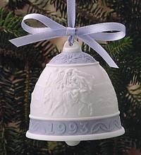Lladro-Christmas Bell 1993