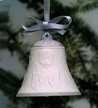 Lladro-Christmas Bell 1999