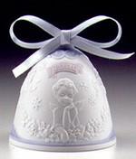 Lladro-Christmas Bell 2000
