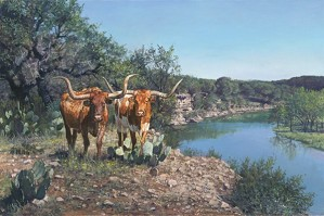 Ragan Gennusa-Lone Star Legacy By Ragan Gennusa Giclee On Canvas  Signed & Numbered