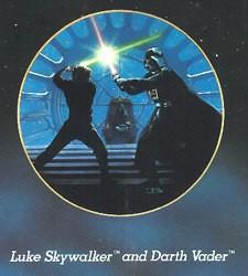 Thomas Blackshear-Star Wars Series - Luke And Darth Vader