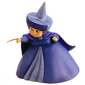 WDCC Disney Classics-Sleeping Beauty Merryweather A Little Bit Of Blue