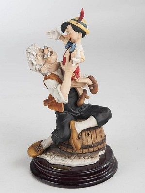 Giuseppe Armani-Pinocchio And Gepetto - A Father's Love Artist Proof