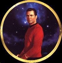 Thomas Blackshear-Star Trek Scotty 25th Anniversary Plate