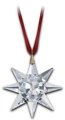 Swarovski Crystal-1991 Swarovski Star Ornament (no Box)