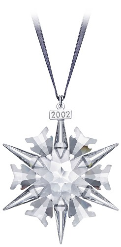 Swarovski-2002 Swarovski  Star Ornament