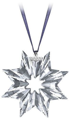 Swarovski-2003 Swarovski  Star Ornament