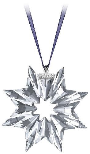 Swarovski-2003 Swarovski  Star Ornament