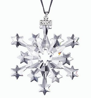 Swarovski Crystal-2004 Swarovski  Star Ornament