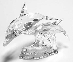 Swarovski Crystal-Dolphins