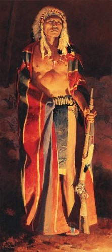 David Mann-The Omaha By David Mann Giclee On Canvas  Signed & Numbered