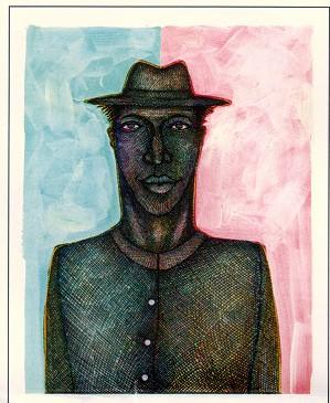 Charles Bibbs-Thin Man #2 Giclee