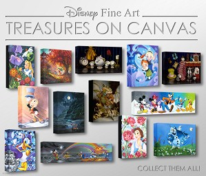 Disney Treasures On Canvas Collection