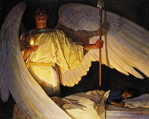 Thomas Blackshear II-Watchers In The Night (canvas Gallery Wrap Edition)