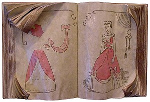 WDCC Disney Classics-Cinderella's Sewing Book