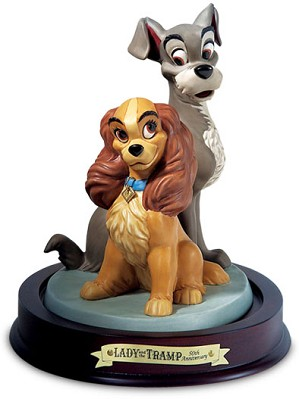 WDCC Disney Classics-Lady And The Tramp Lady And Tramp Opposites Attract
