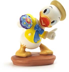 WDCC Disney Classics-Mr Duck Steps Out Louie Tag Along Trouble