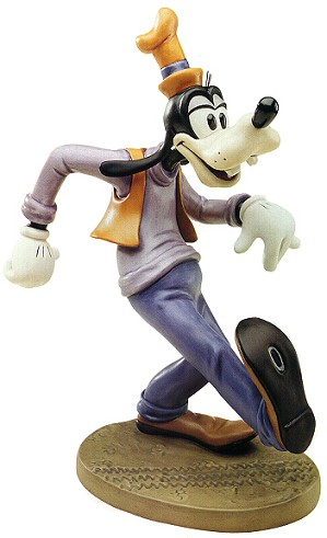 WDCC Disney Classics-Moving Day Goofy Oh The World Owes Me A Livin'