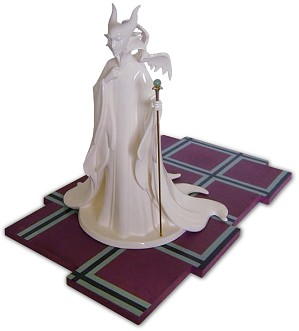 WDCC Disney Classics-Sleeping Beauty Maleficent (whiteware) Evil Enchantress