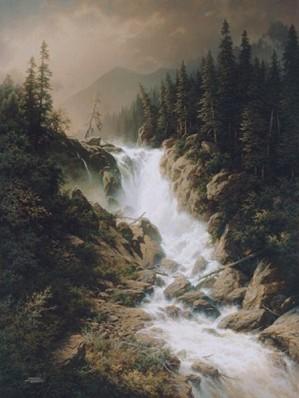 Larry Dyke-Wilderness Thunder By Larry Dyke Giclee On Canvas  Artist Proof